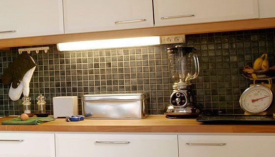 Työpistevalaisin keittiö – Hiljainen pyykinpesukone