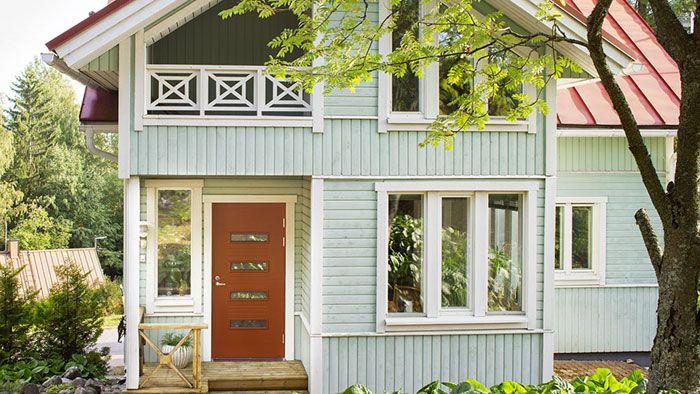 Uudet ulko ovet moderniin kotiin