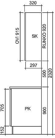 Työpöydän korkeus