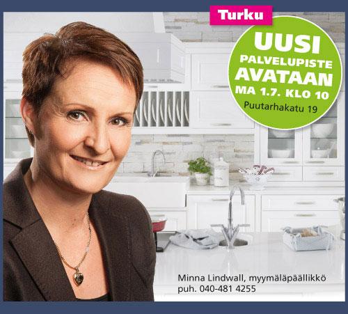 Turkuun avataan uusi Keittiömaailman palvelupiste