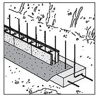Anturan raudoitus rakentaminen