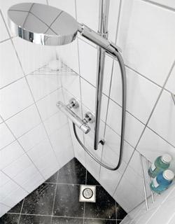 Märkätilalevy soveltuu kosteusteknisesti vaativiin olosuhteisiin.
