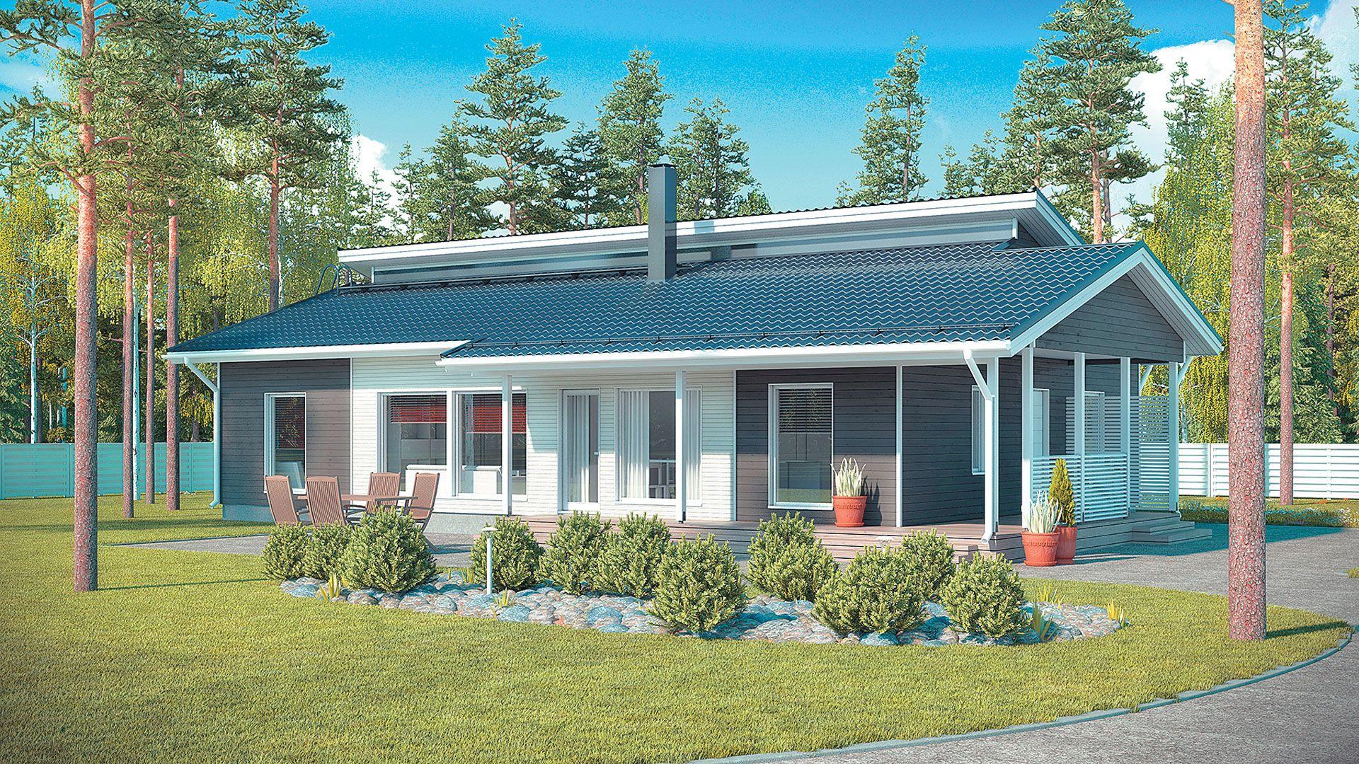 Pienellä budjetilla uusi talo