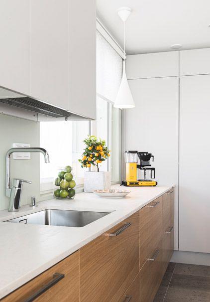 Domuksen ikkunoita ja keittiöitä Asuntomessuilla