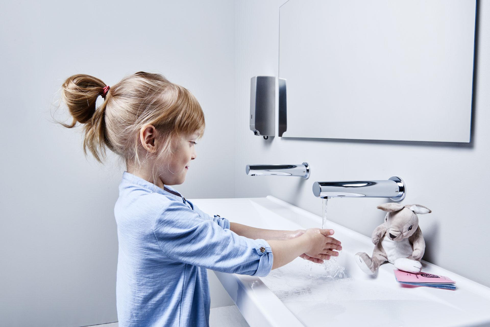 Turvallisuus on myös etuna kosketusvapaissa hanoissa, etenkin kotitalouksissa, joissa on lapsia.