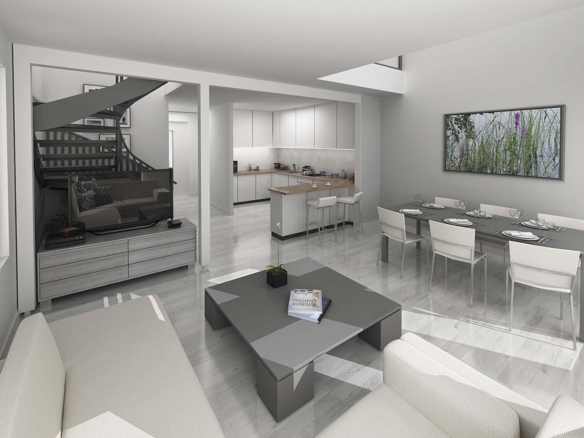 Jukkatalon kodissa materiaalit ovat laadukkaita ja aikaa kestäviä.