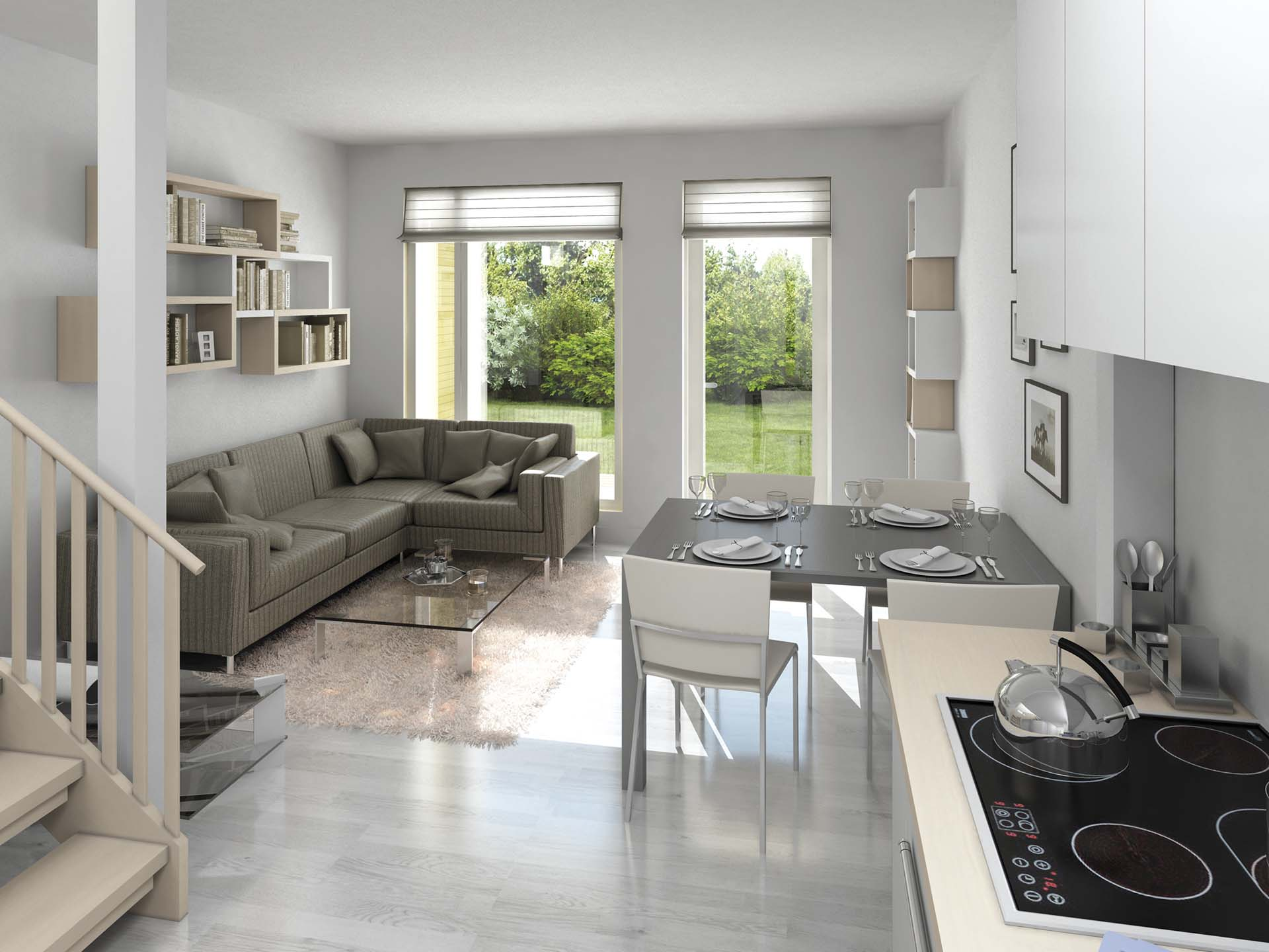 Kun ostat kotisi ajoissa, voit vaikuttaa pintamateriaaleihin, kuten laattoihin ja laminaatteihin.