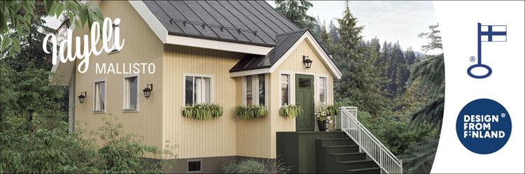 Idylli sopii kuistilliseen taloon täydellisesti.