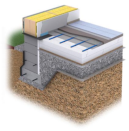 Plaano-lattia on rakenteeltaan ohut, jonka vuoksi se toimii erityisen hyvin lattialämmityksen kanssa.