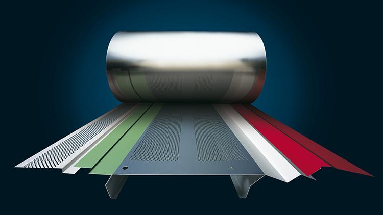 Rei'itettyjä teräsohutlevyjä käytetään muun muassa erilaisissa listoissa ja metallirangoissa.