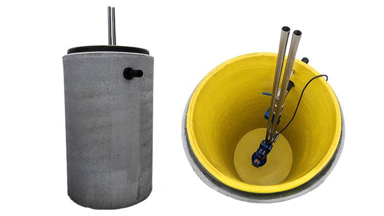 Rudus-pumppaamon putkisto on hapon kestävää terästä eli erittäin pitkäikäistä materiaalia.