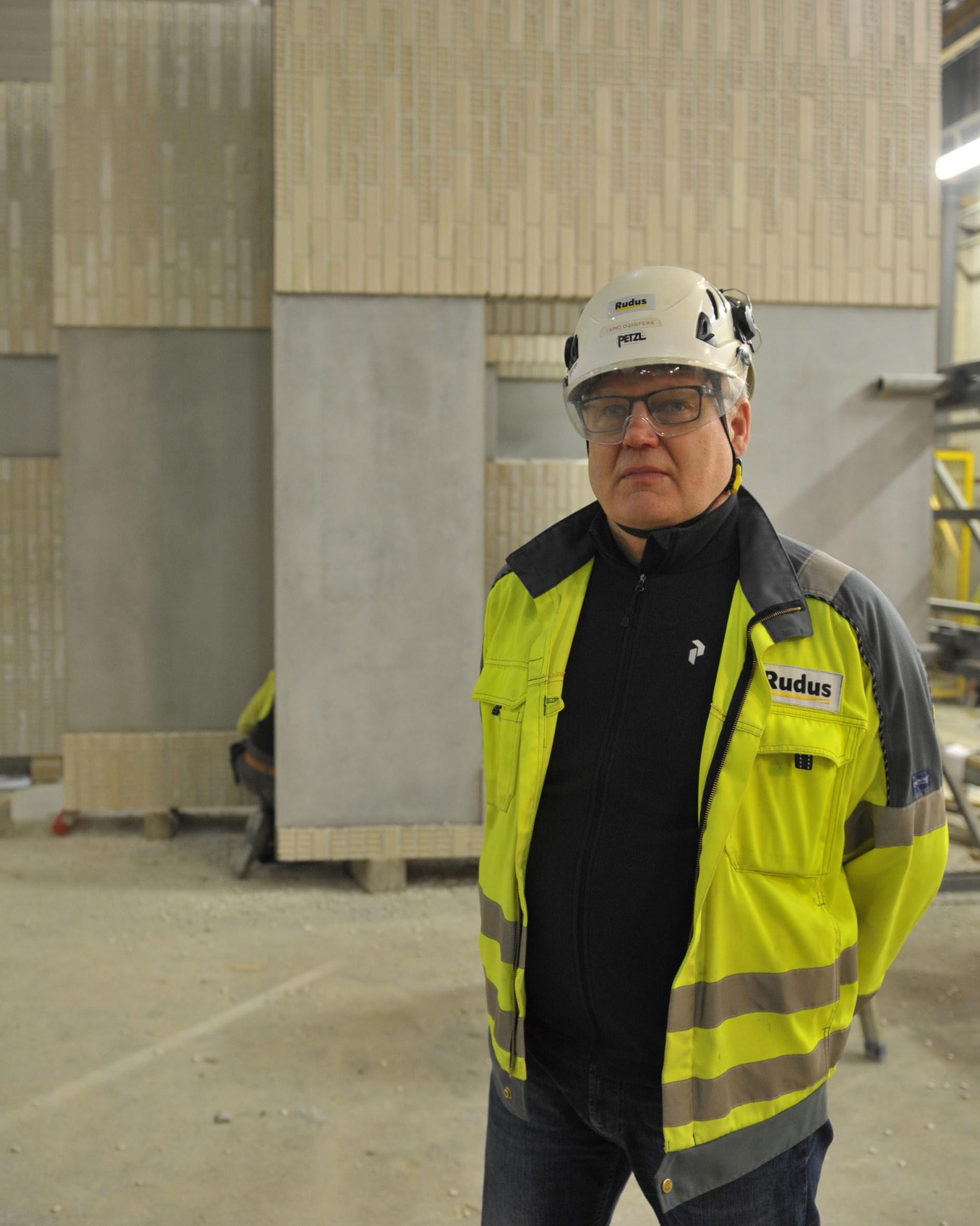 Yksikön päällikkö Tapio Ojanperä