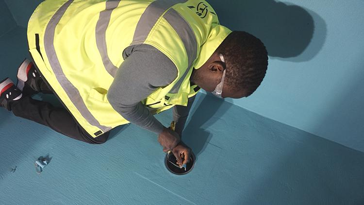 TTS kouluttaa sertifioidut vedeneristäjät. Tarkista koulutuskalenteri.
