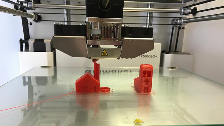 Tietomallinnus ja 3D printit uudistavat rakennusteollisuutta jo nyt.
