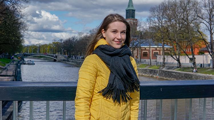 Tampereen yliopistossa opiskelevaAnni Marttinenaloittaa kesätyöt Schauman Arkkitehdeilla.
