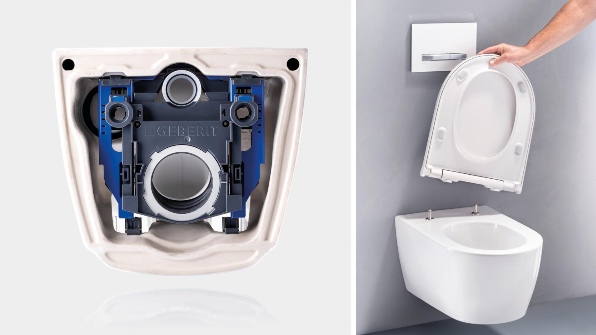 Geberit on Euroopassa saniteettialan markkinajohtaja, jolla on lähes 150 vuoden kokemus kylpyhuoneen saniteettitekniikasta.Vuosien aikana hankittua tietotaitoa käytetään hyödyksi esimerkiksi tänä vuonna lanseeratun Geberit ONE -wc-istuimen huippuun hiotuissa yksityiskohdissa ja asennustekniikassa.