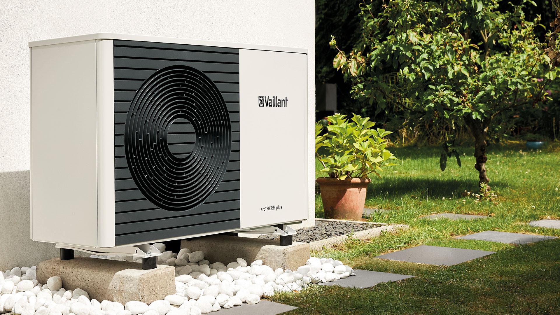 AroTHERM plus soveltuu rakennusten lämmitysjärjestelmien korvaamiseen