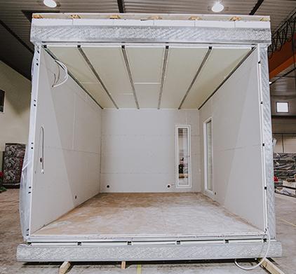 Innovointi on tuottanut Aulis Lundell Oy:n moduulirakentamiseen monia hyödyllisiä ratkaisuja.