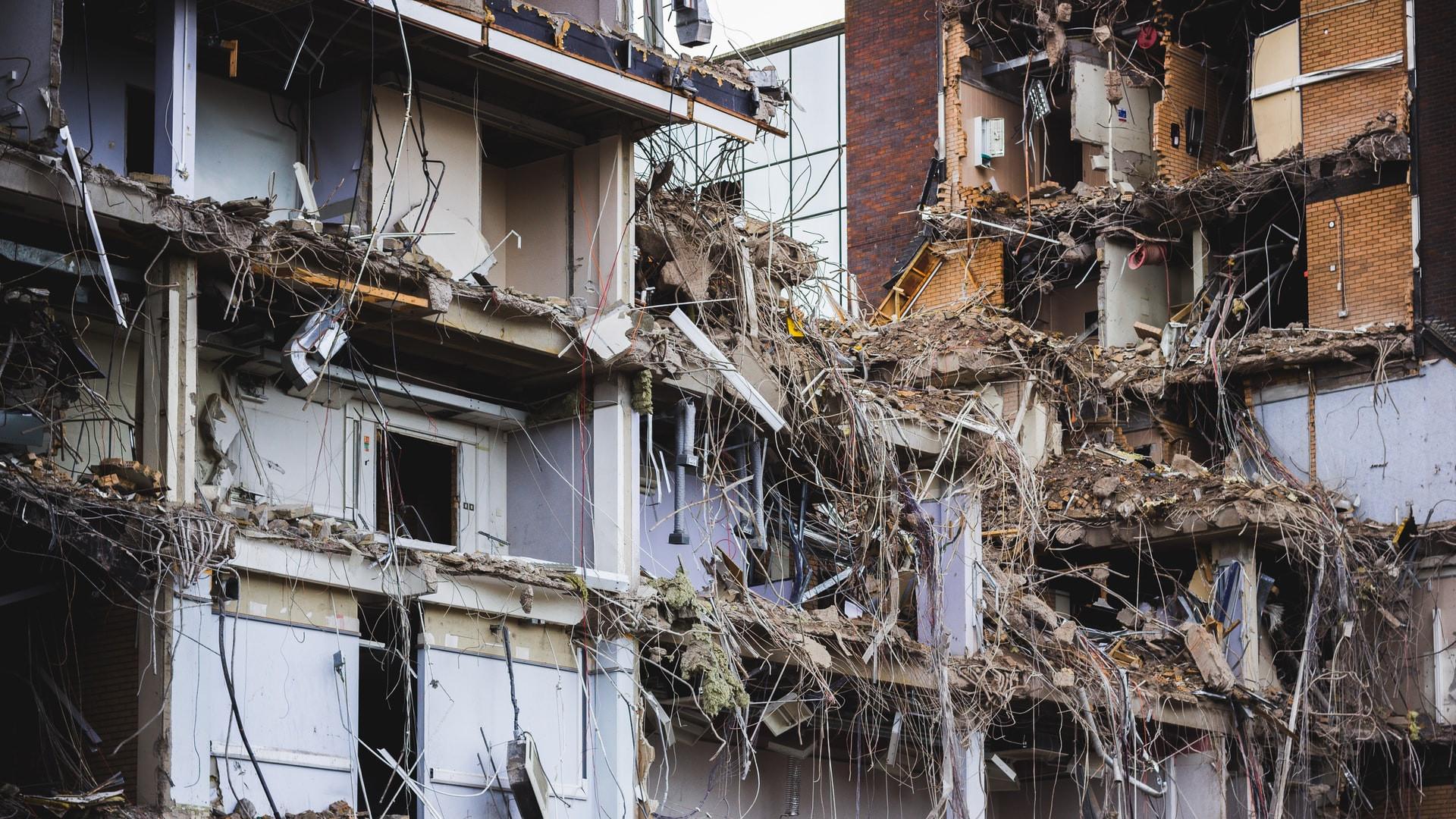 Purkutyömailta tulee uudisrakentamista sekalaisempaa rakennusjätettä, mikä tuottaa haasteita materiaalin kierrätykselle