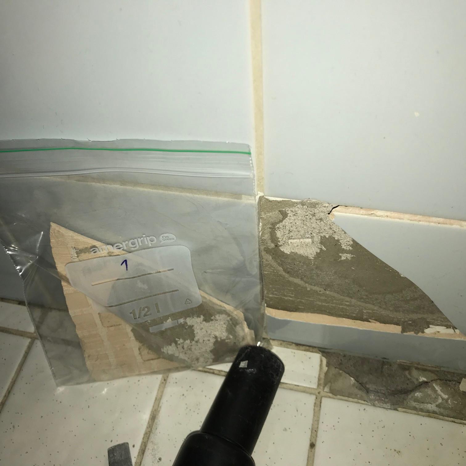 Remontoinnin yhteydessä esimerkiksi laattojen kiinnityslaastissa voi olla asbestia