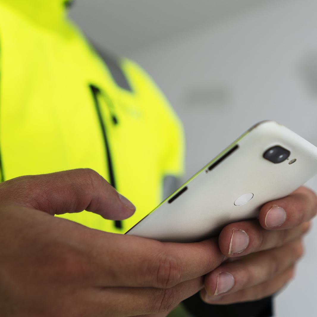 Laadunvarmistus työmaalla toteutuu myös mobiilisovelluksen avulla