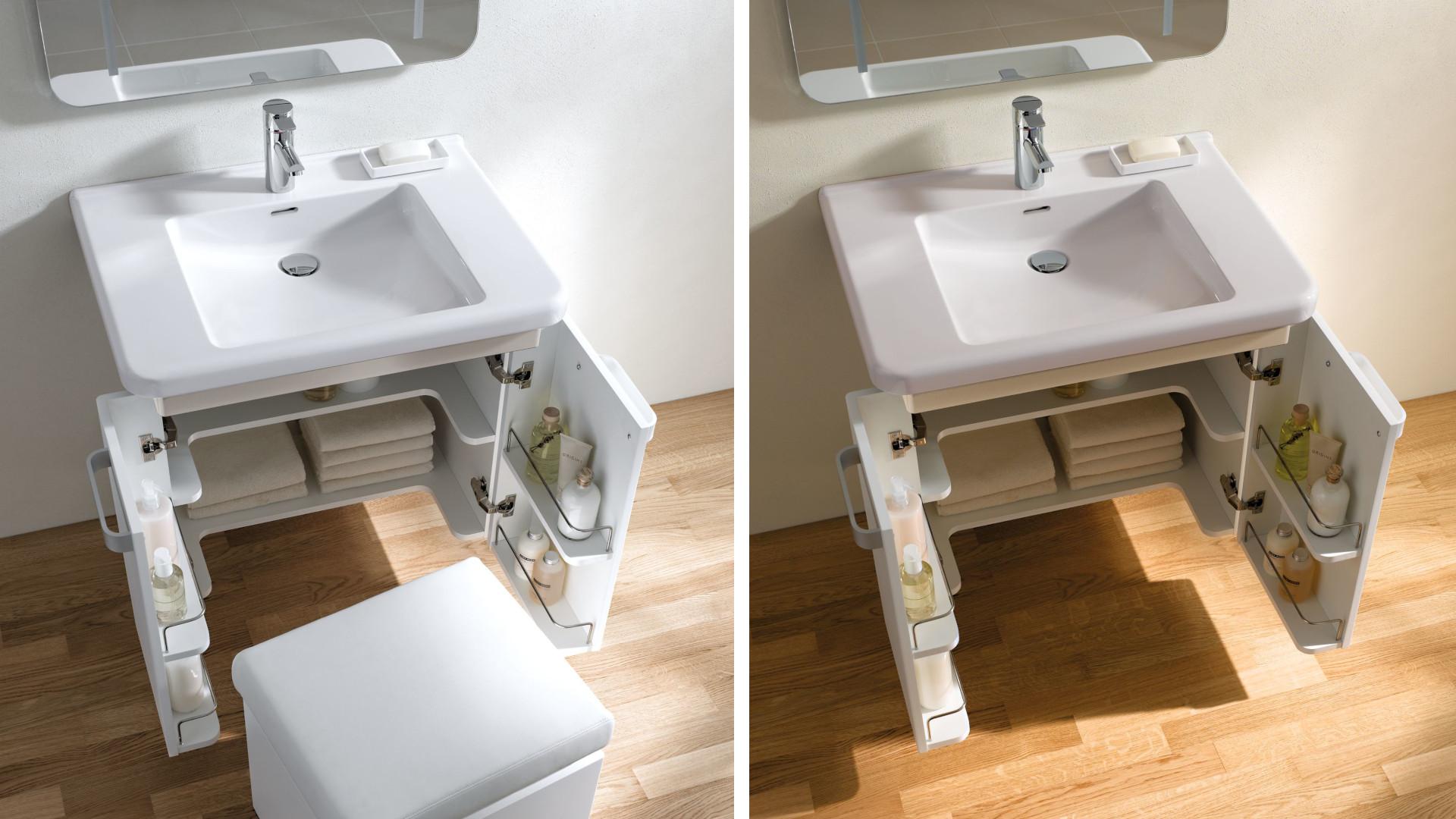 Renova Comfort -sarjan pesuallasta on helppo käyttää myös esimerkiksi pyörätuolissa istuessa.