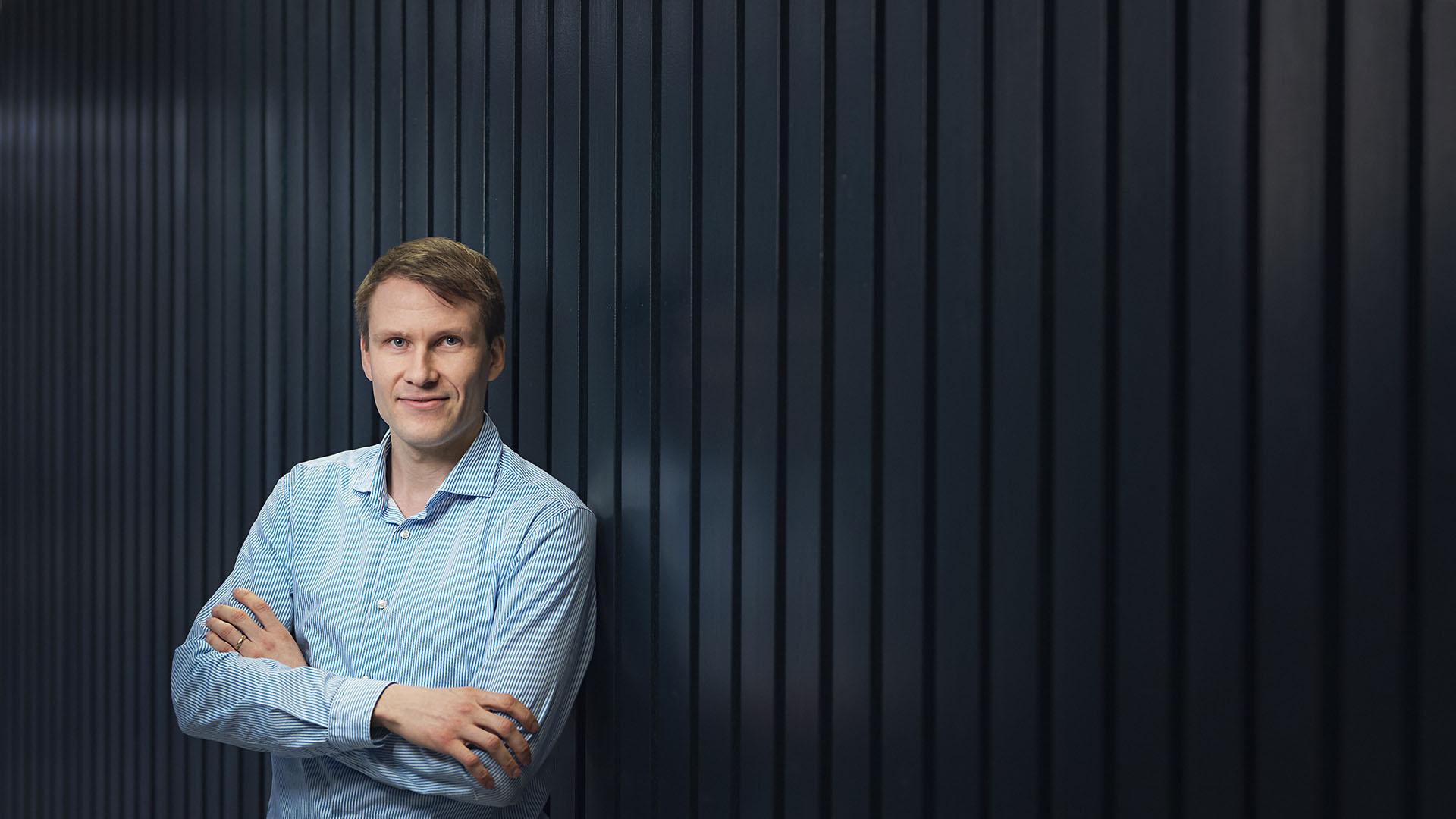 Päivö Kinnunen, tutkija, Oulun yliopiston kuitu- ja partikkelitekniikan tutkimusyksikkö