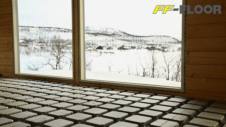 FF-FLOOR-lattiaratkaisun 30 prosenttia pienempi hiilijalanjälki on tärkeä edistysaskel myös rakentamisen hiilijalanjäljen pienentämisessä.