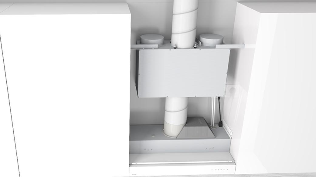 Vallox Kanavatuuletin on tarkoitettu asennettavaksi liesikuvun päälle tai esim. keittiön tai pesuhuoneen kattorakenteisiin poistopuhaltimeksi.