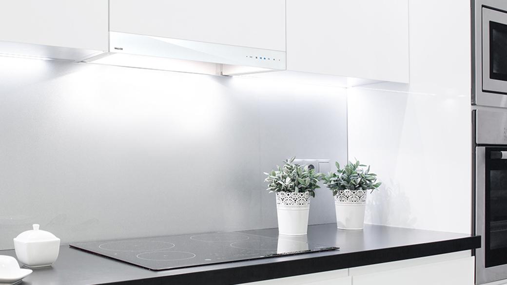Vallox Delico PTD EC -säädinkuvussa yhdistyy skandinaavinen eleetön design ja tehokas kärynpoisto. Kupu sopii huippuimureiden ja Vallox-ilmanvaihtokoneiden ohjaukseen.