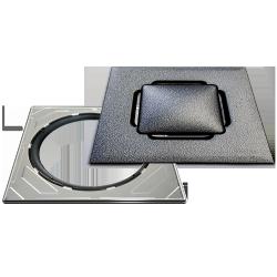 Vieser RST Design Silver + teräskehys