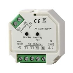 LED vastaanotin 230V - VaLO, led valaisimille, max. 400W