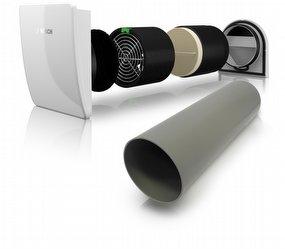 Bosch Vent 2000 1 Ilmanvaihtojärjestelmä lämmöntalteenotolla