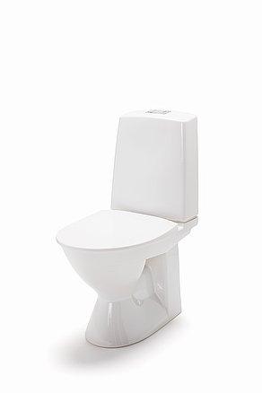 IDO Glow 60 kanneton WC-istuin, ilman kiinitysreikiä 2-huuhtelu