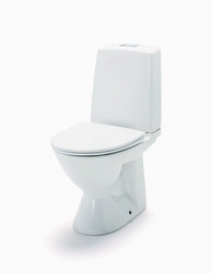 IDO GLOW 61 LATTIA-WC, P-LUKKO, KIINNITYSREI'ILLÄ yksitoiminen