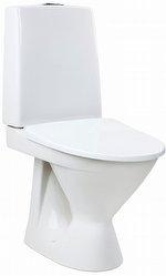 IDO SEVEN D 18 LATTIA-WC, LYHYT MALLI, P-LUKKO