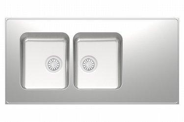 A-Seitsikko tiskipöytä 1000 mm 2-altainen