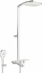 Sadesuihkusetti Oras Esteta 7591-11 termostaattihanalla kromi/valkoinen