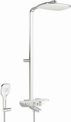Sadesuihkusetti Oras Esteta Wellfit 7593-11 termostaattihanalla kromi/valkoinen