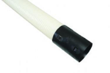 PELTOSALAOJA PUTKI 80 5M PVC VALKOINEN