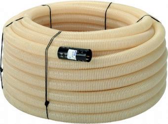 PELTOSALAOJA PUTKI 160/145 50M PVC VALKOINEN