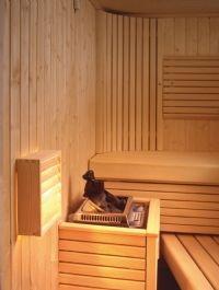 Saunavalaisin AVH11.2 pinta-asennus mäntyritilällä