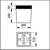 NUMEROVALAISIN AVR7 1x60W E27