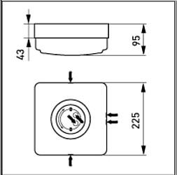 Ensto Varakupu AVR72 valaisimille