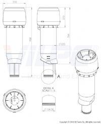 HUIPPUIMURI E190P/125/700 RUSKEA