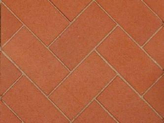 Penter keraaminen pihatiili Aseri, punainen