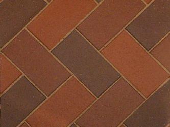 Penter keraaminen pihatiili Aseri, ruskeankirjava