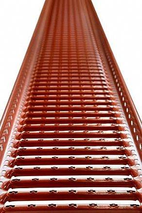 Kattosiltapaketti 3 m Tupapunainen
