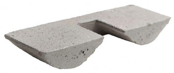 Harjatiiviste betonia Ormax Harmaa