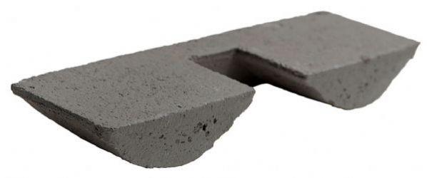 Harjatiiviste betonia Ormax Tummanharmaa